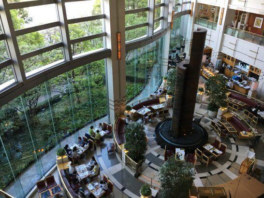 帝国ホテル大阪のロビーラウンジ「ザ パーク」