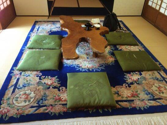 京都ラウンジの中央の間