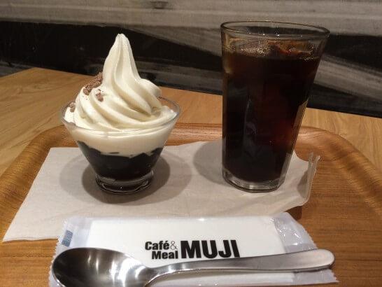 Cafe&Meal MUJIのスイーツとコーヒー