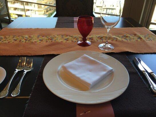 グランドビューのテーブル