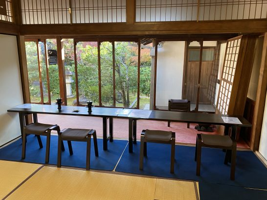 アメックス京都特別観光ラウンジの奥側の部屋