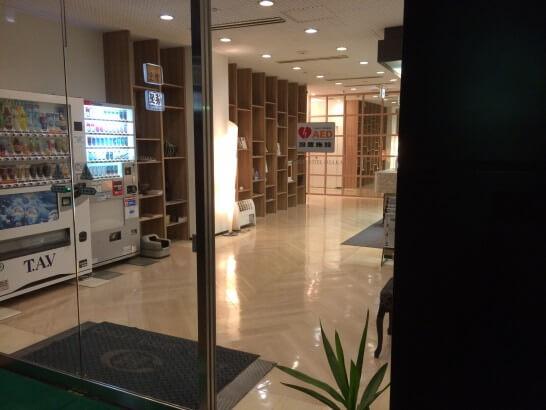 センターホテル大阪の入り口
