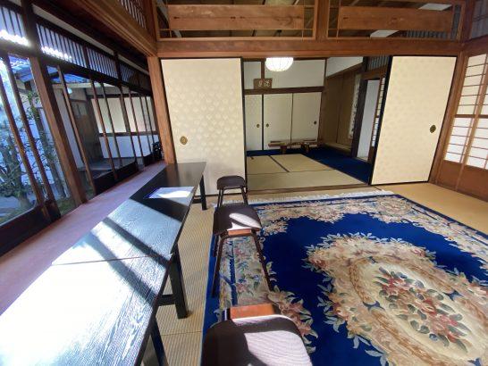 アメックス京都特別観光ラウンジの室内