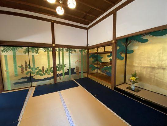 アメックス京都特別観光ラウンジ休憩後の圓徳院拝観