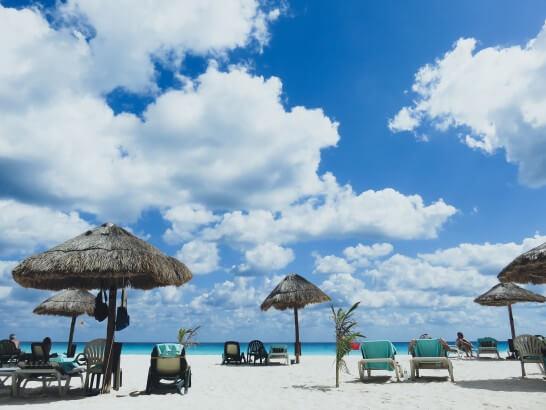 海外のリゾートビーチ