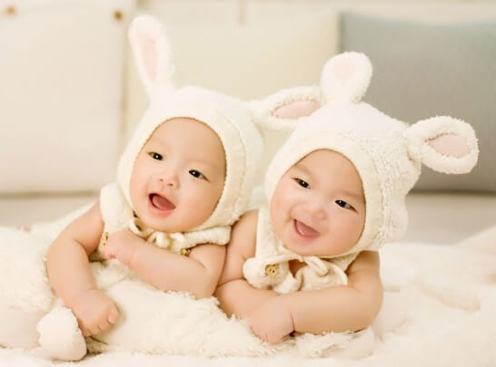 双子の子供