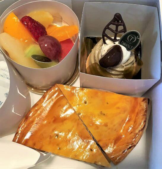 ルミネで買ったケーキ