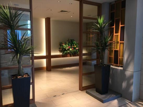 ヒルトン東京ベイの結婚式條への入口