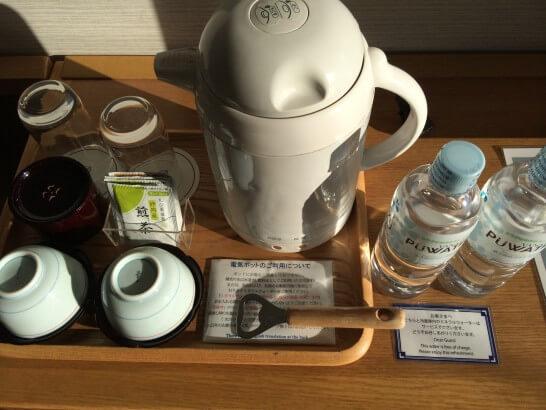 鎌倉プリンスホテルのお茶・水