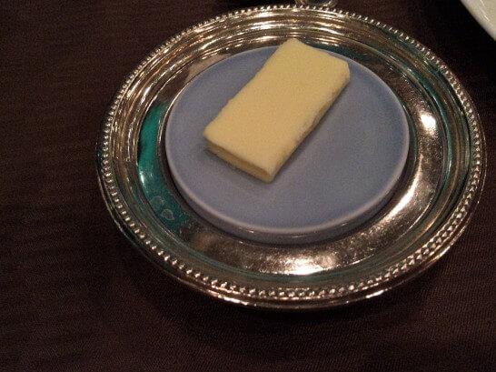ル・トリアノンのバター