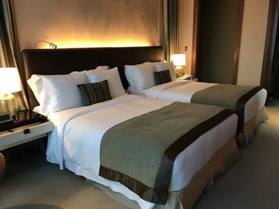 セントレジス大阪のベッド