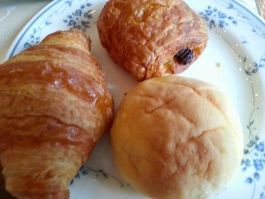 ザ・プリンス 箱根芦ノ湖の朝食のパン