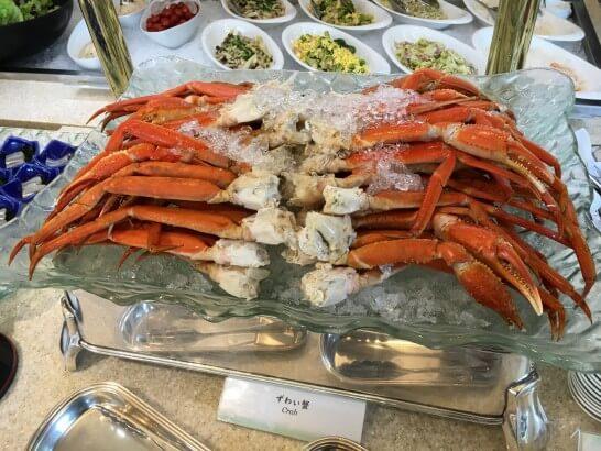 フォレスト・イン昭和館の蟹