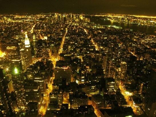 ニューヨークの夜景