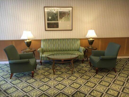フォレスト・イン昭和館のソファー