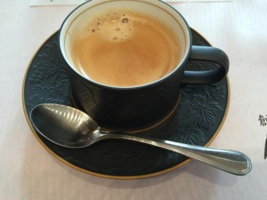 創作和食 銀座 志のコーヒー