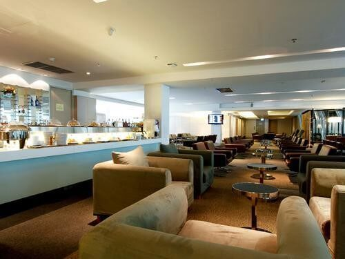 Louis' Tavern CIP First Class (Conc A) Lounge