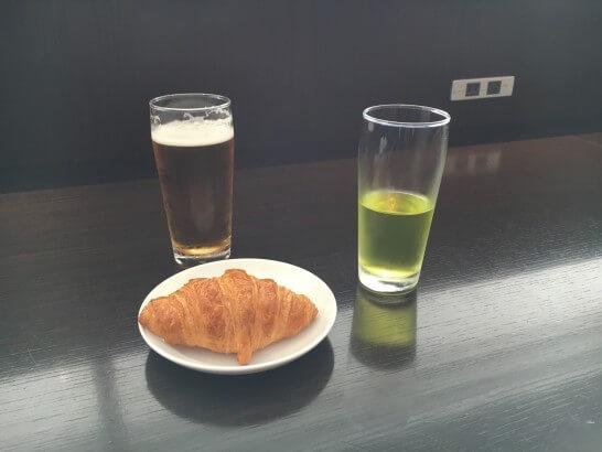 ダイヤモンド・プレミアラウンジ(羽田)の飲食物