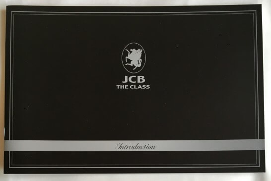 JCB THE CLASSのIntroduction