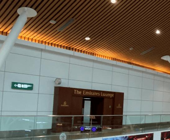 クアラルンプール国際空港のエミレーツ航空ラウンジ
