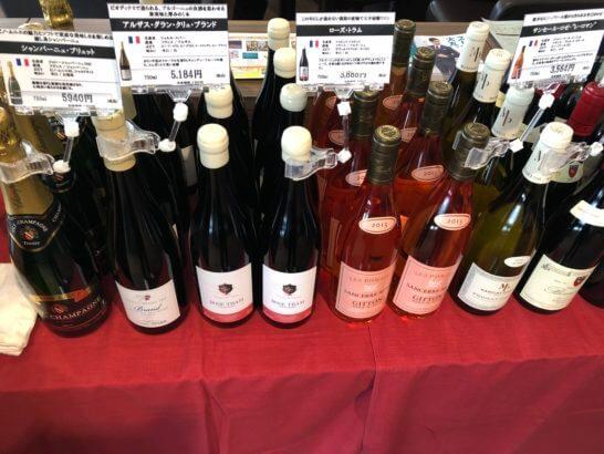大丸東京の「D's ラウンジトーキョー」のワインの試飲会