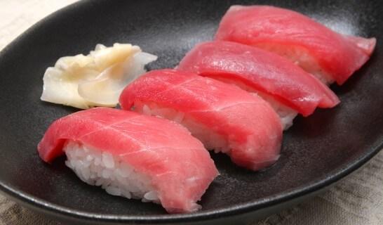 マグロの寿司