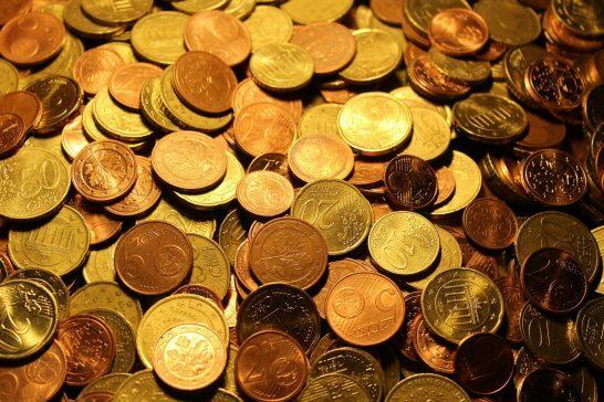 コインの山
