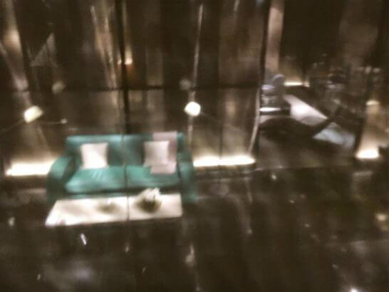 アルマーニ銀座店のVIPルーム