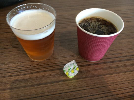 マスターズドリームとアイスコーヒー
