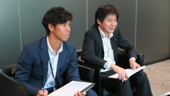 SBI証券 商品開発部の稲葉さん、杉本部長 (3)