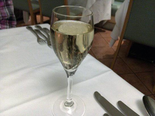 プリミ・バチのシャンパン