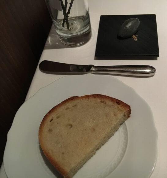 ヴァリノールのパン・黒ゴマバター