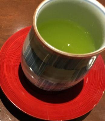 銀座 大志満の緑茶
