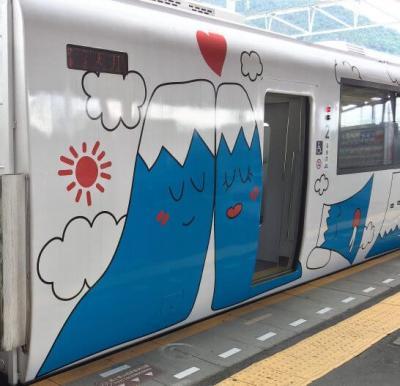 富士急行の電車
