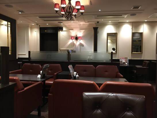 第一興商の銀座珈琲店 (店内)