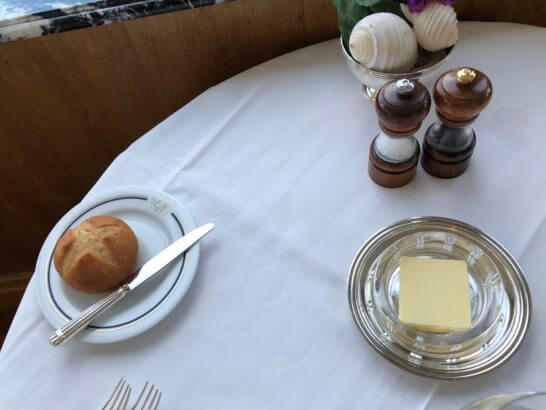 ホテルニューグランドのル・ノルマンディのパン