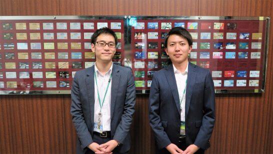 三井住友カードの山口さんと田村さん