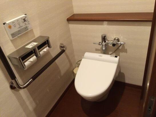 休暇村奥武蔵のトイレ