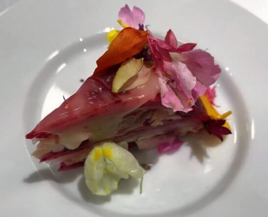 ダイナースクラブ フランスレストランウィークの野菜料理
