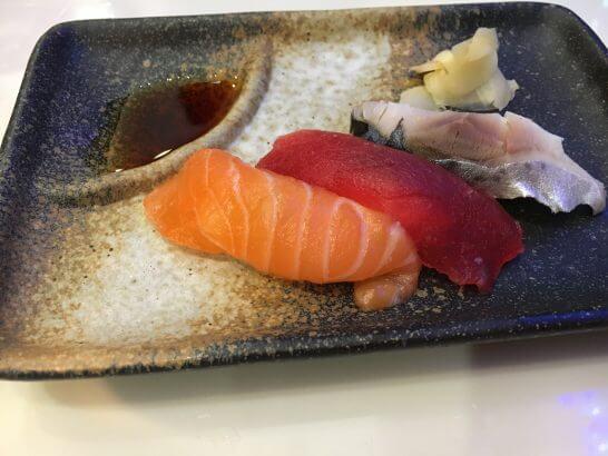 ホテルメトロポリタンエドモントのディナーバイキングの寿司
