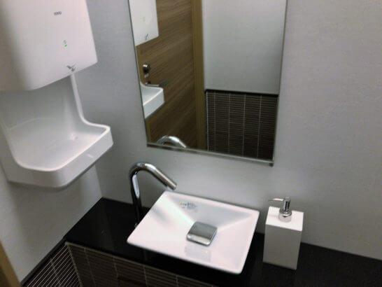 USJのJCBラウンジのトイレ