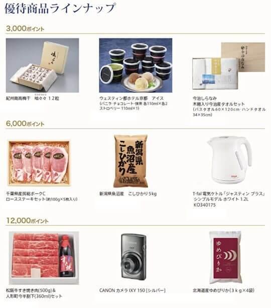 ダイコク電機の株主優待(3,000ポイント~12,000ポイント)