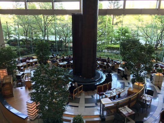 帝国ホテル大阪のラウンジ
