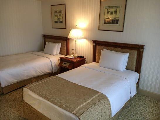 リーガロイヤルホテル東京のベッド
