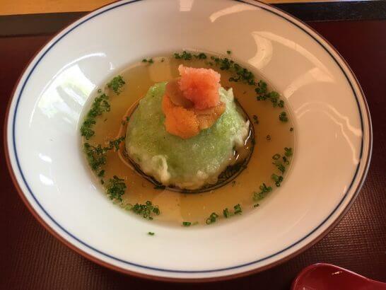 日本料理「はなの」の「なでしこ」の先付