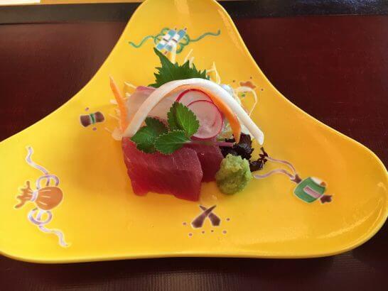 日本料理「はなの」の「なでしこ」の造り