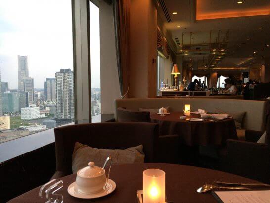 横浜ベイシェラトン ホテル&タワーズのベイ・ビューの店内