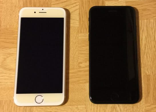iPhone 6sとiPhone7