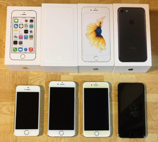 iPhone 5s・6・6s・7