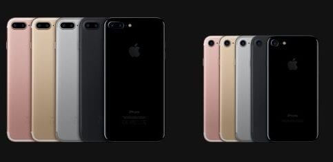 iPhone7と7Plus